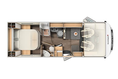 Floor plan - McRent, Comfort Luxury